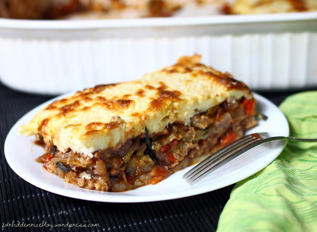 Vegetable Moussaka Vegetarian Foody S