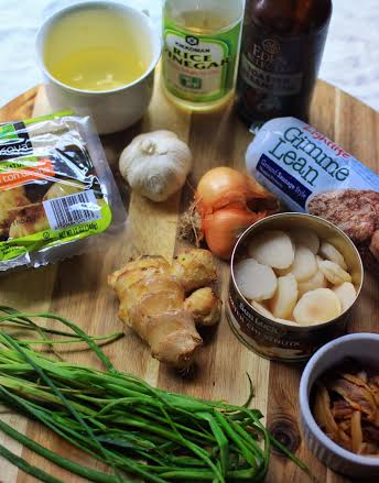how to make a ginger and shallot source
