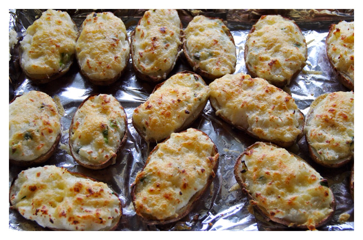 Forbidden Rice Blog | Cheesy Stuffed Twice-Baked Potatoes
