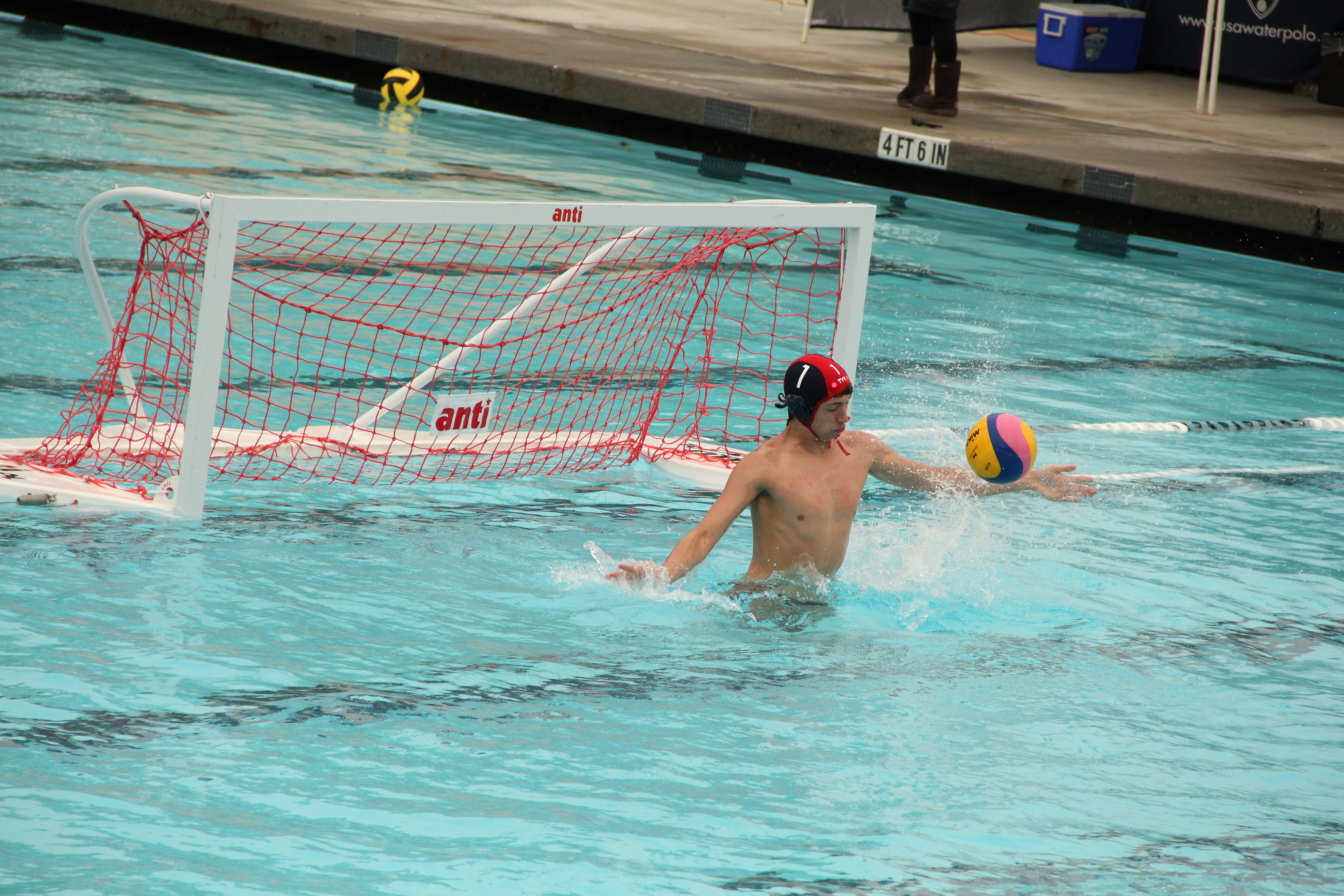 USA Water Polo ODP Vincent Wright | © Forbidden Rice Blog 2015