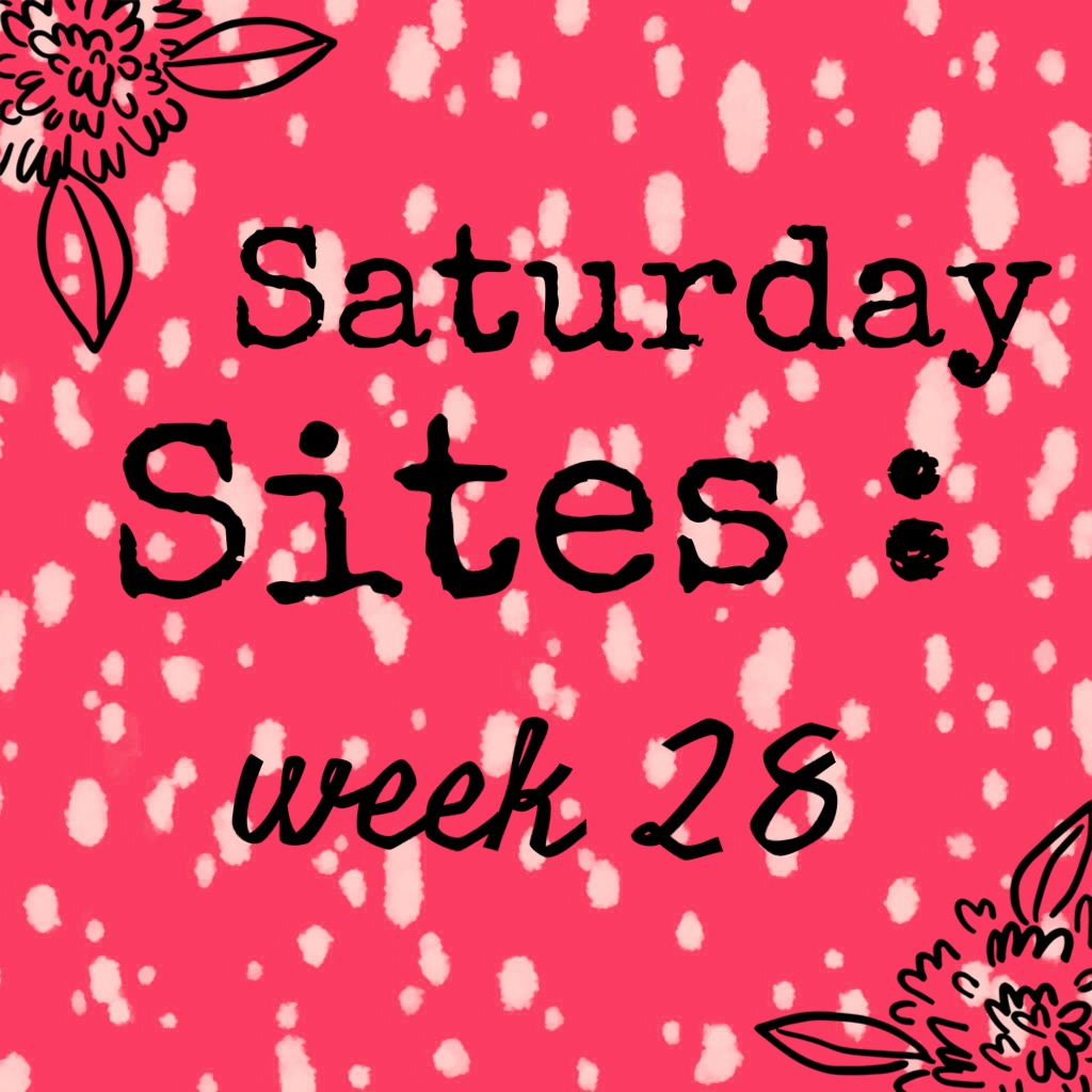 Forbidden Rice Blog | Saturday Sites Week 28 2015
