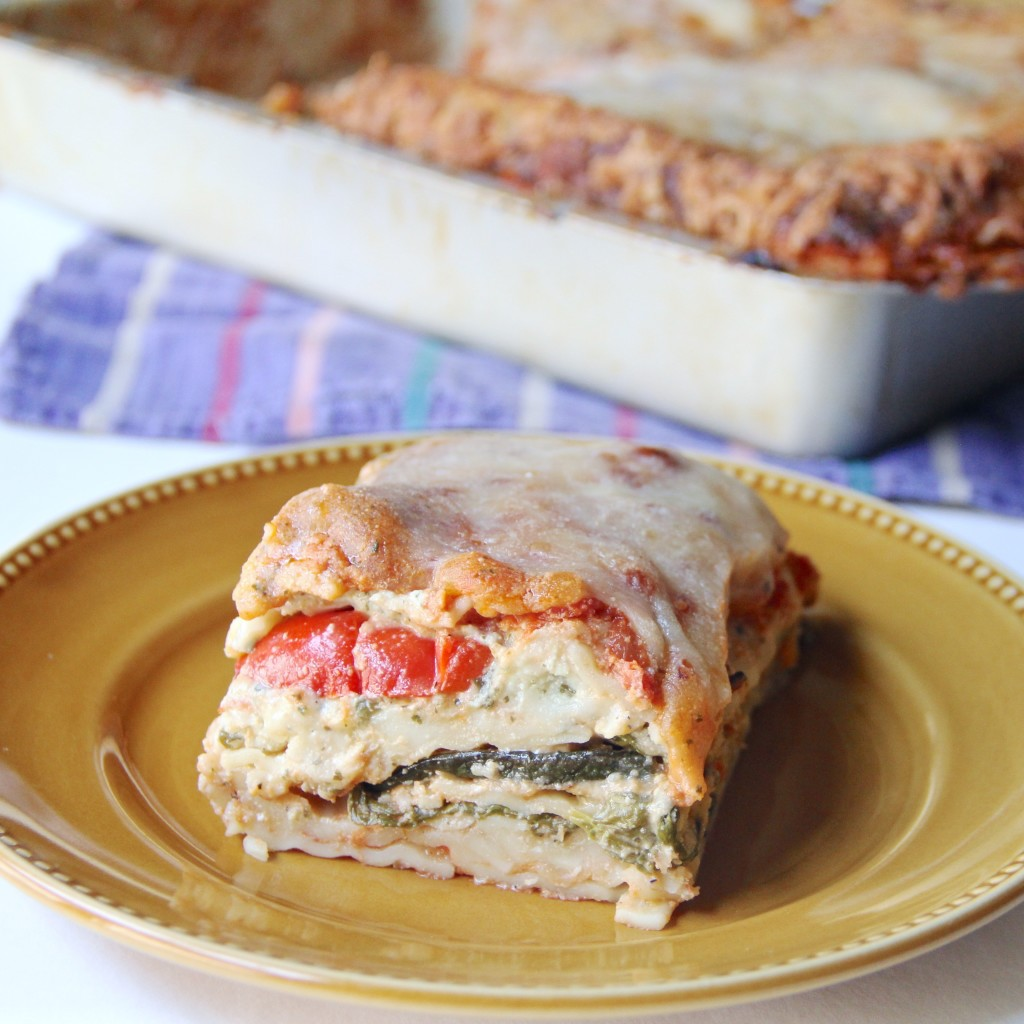 Forbidden Rice Blog | Meatless Monday: Roasted Vegetable Lasagna