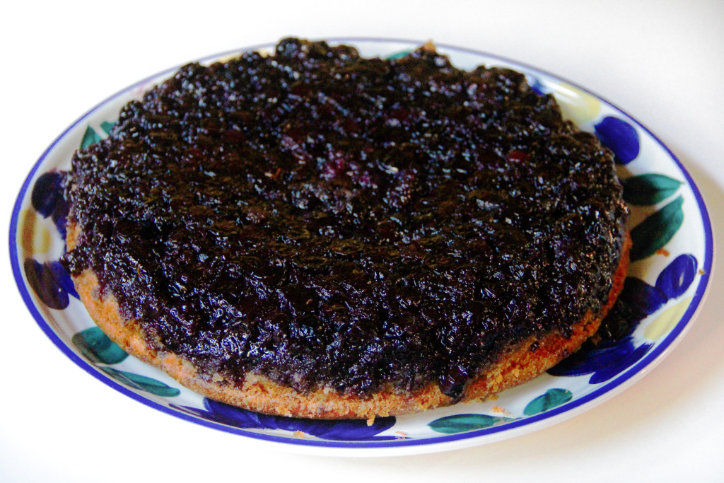 Forbidden Rice Blog | Blueberry Upside-Down Cake (1 of 7)