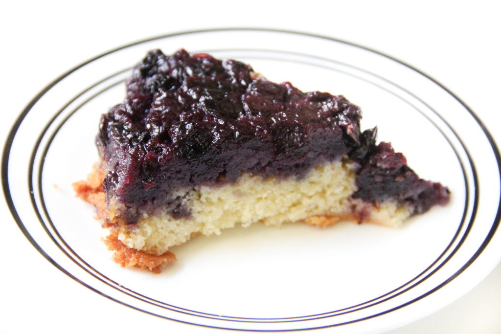Forbidden Rice Blog | Blueberry Upside-Down Cake (2 of 7)