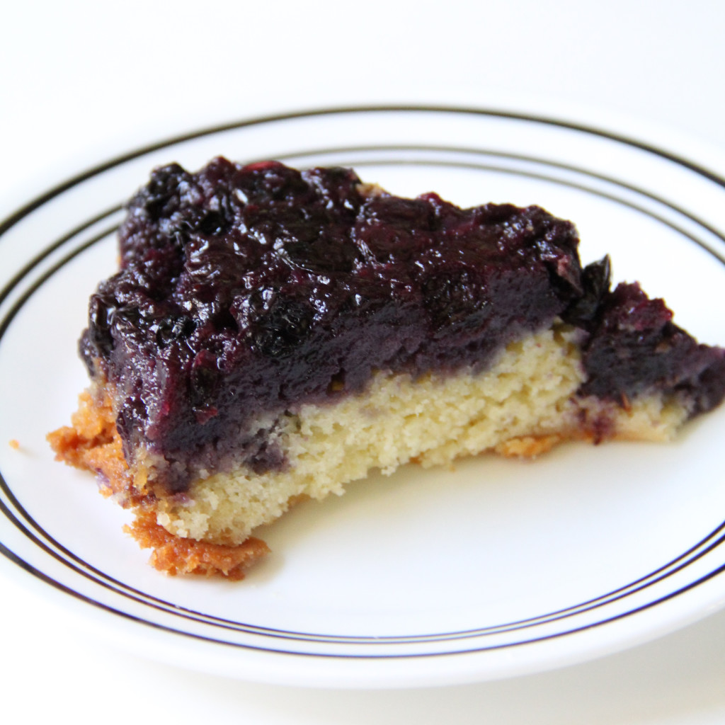 Forbidden Rice Blog | Blueberry Upside-Down Cake (3 of 7)