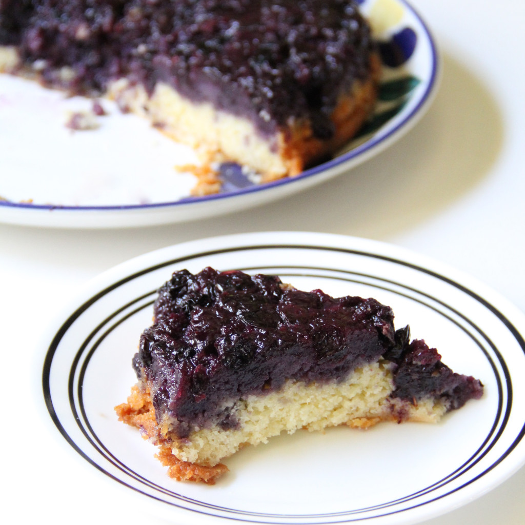 Forbidden Rice Blog | Blueberry Upside-Down Cake (4 of 7)