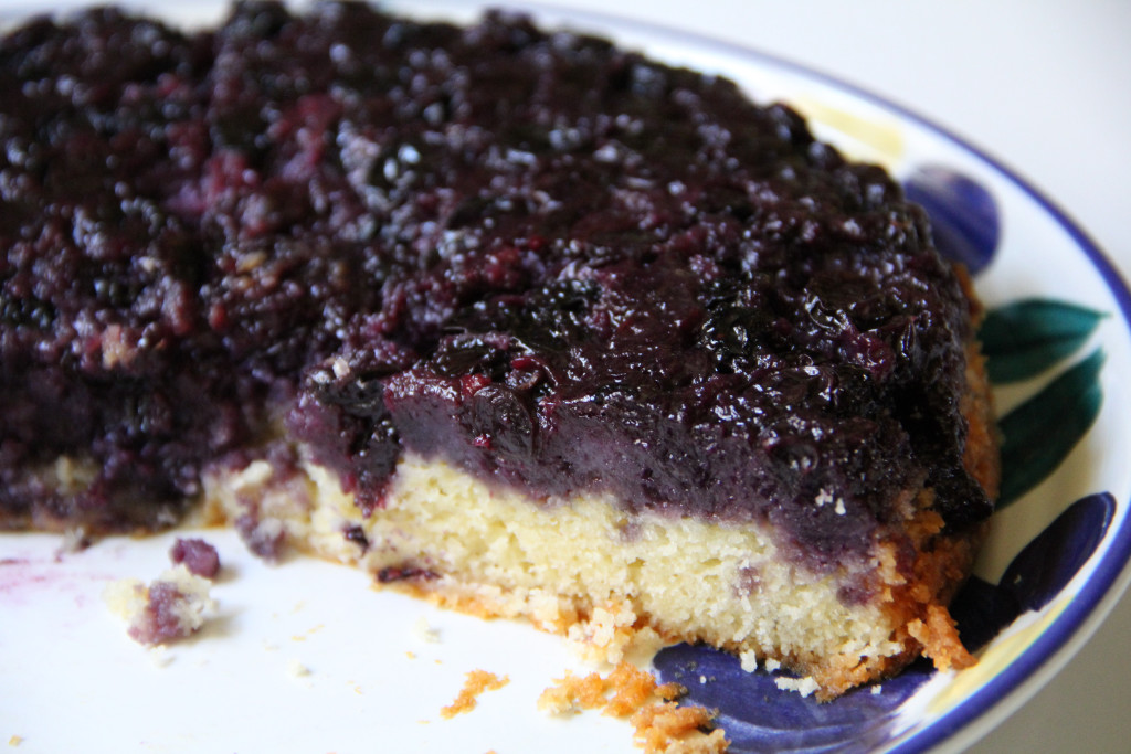 Forbidden Rice Blog | Blueberry Upside-Down Cake (5 of 7)