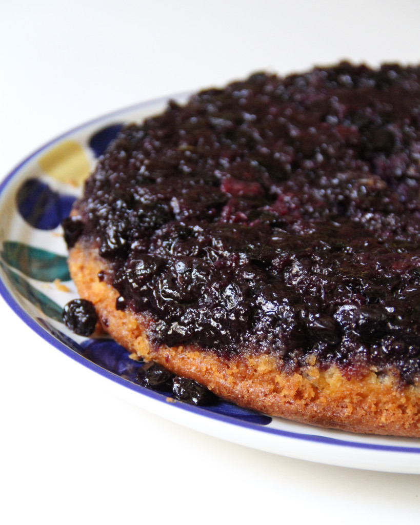 Forbidden Rice Blog | Blueberry Upside-Down Cake (7 of 7)