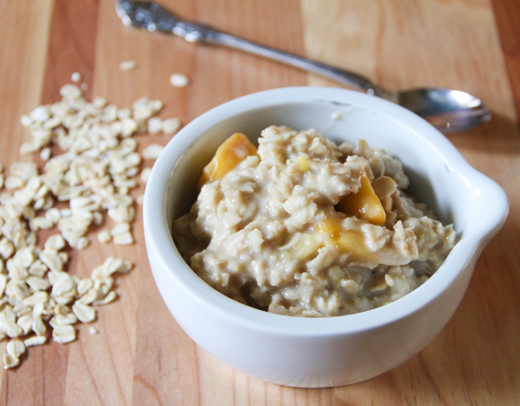 Forbidden Rice Blog | Peaches and Cream Oatmeal (1 of 6)