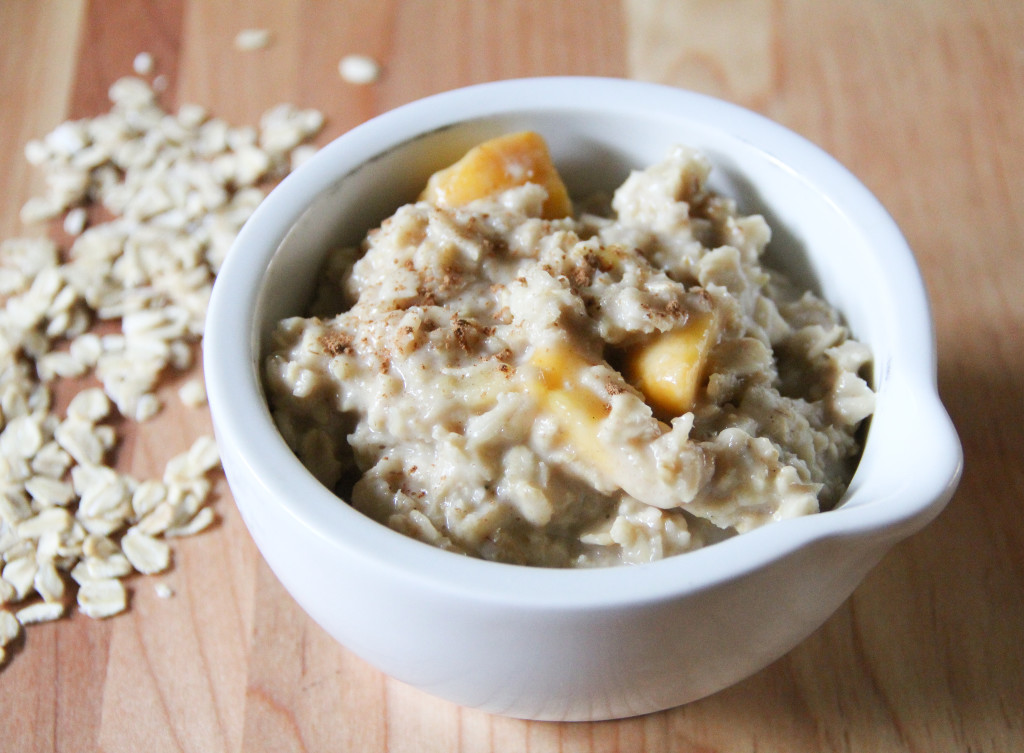 Forbidden Rice Blog | Peaches and Cream Oatmeal (4 of 6)