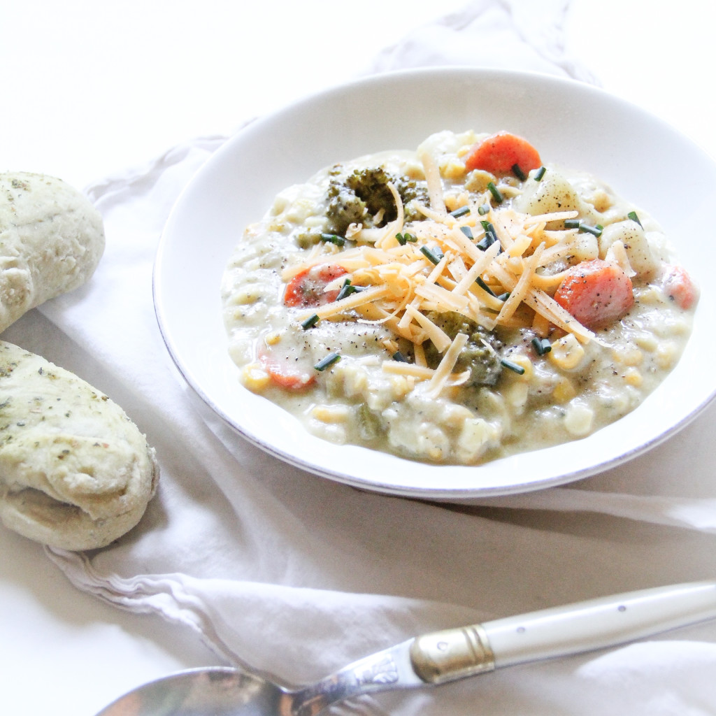 Forbidden Rice Blog | Meatless Monday  Veggie Chowder