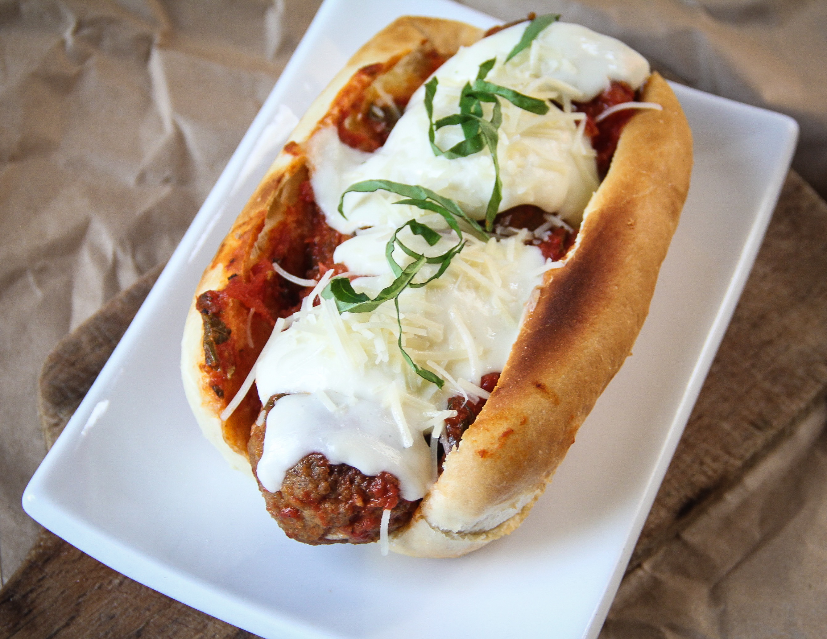 Forbidden Rice Blog | Meatless Meatball Subs (3 of 8)