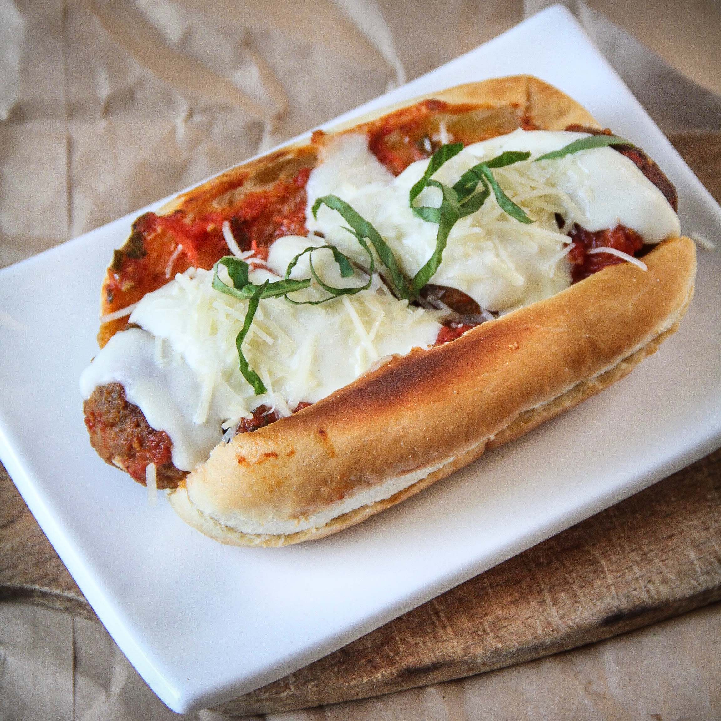 Forbidden Rice Blog | Meatless Meatball Subs (5 of 8)
