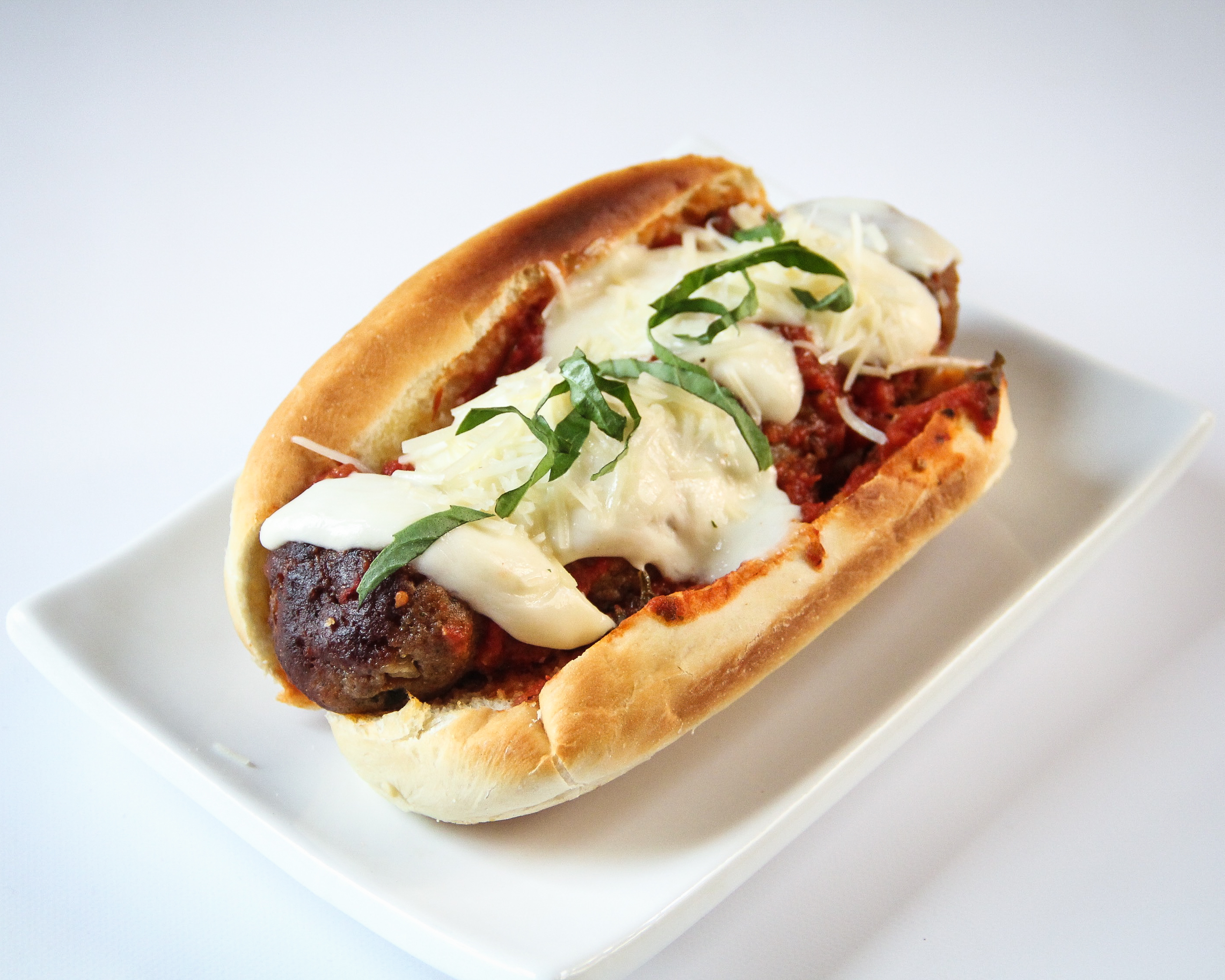 Forbidden Rice Blog | Meatless Meatball Subs (6 of 8)