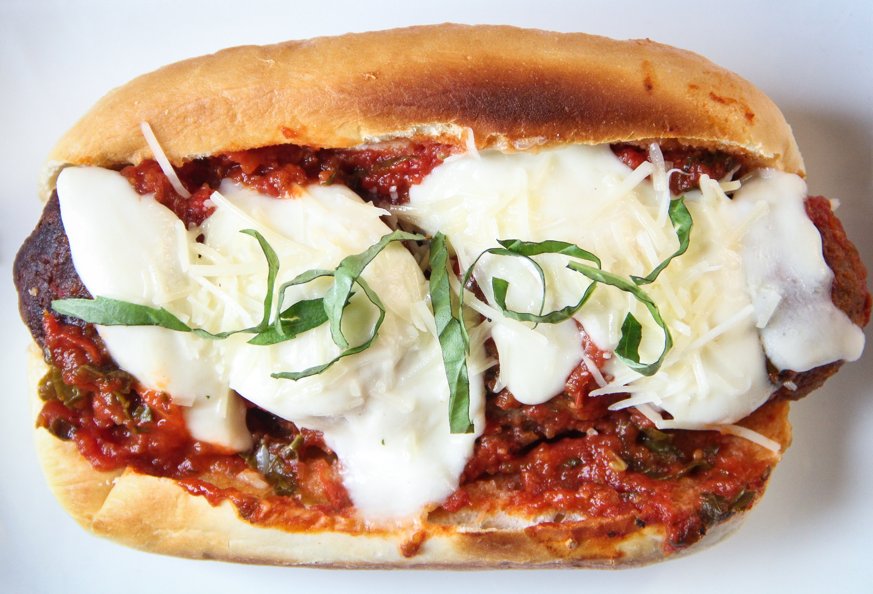 Forbidden Rice Blog | Meatless Meatball Subs (7 of 8)
