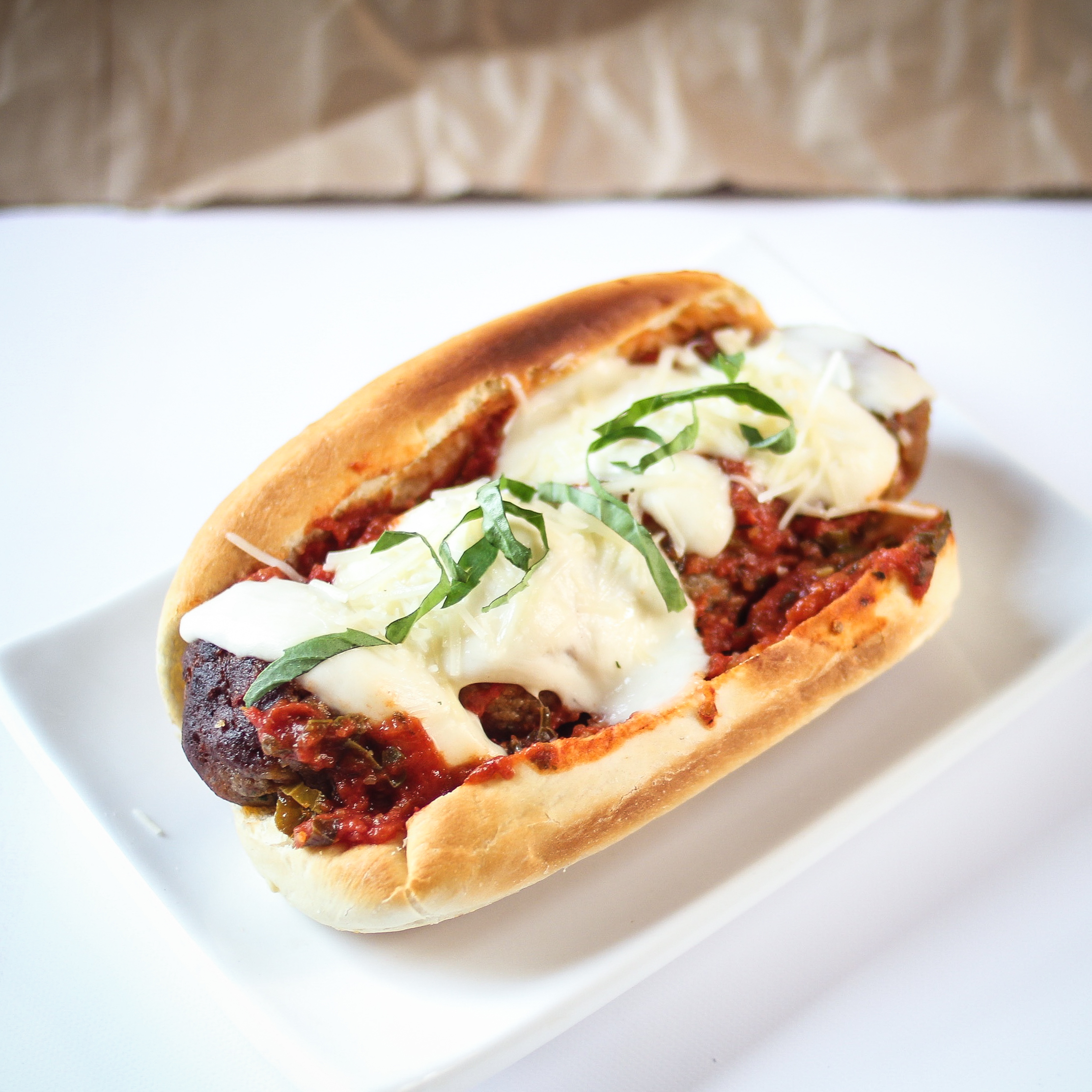 Forbidden Rice Blog | Meatless Meatball Subs (8 of 8)
