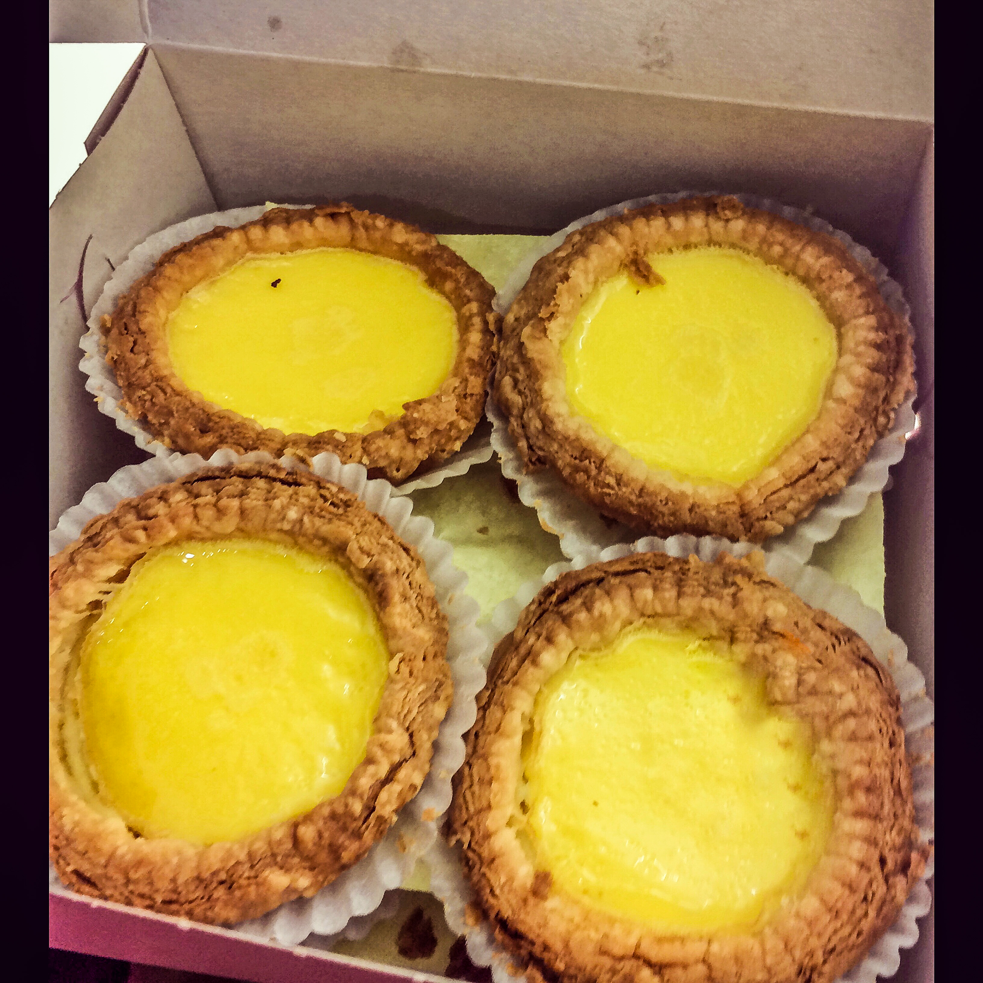 Craig And I Got Up Early The Next Morning To Indulge In Some  Straightoutoftheoven Egg Custard Tarts In Chinatown