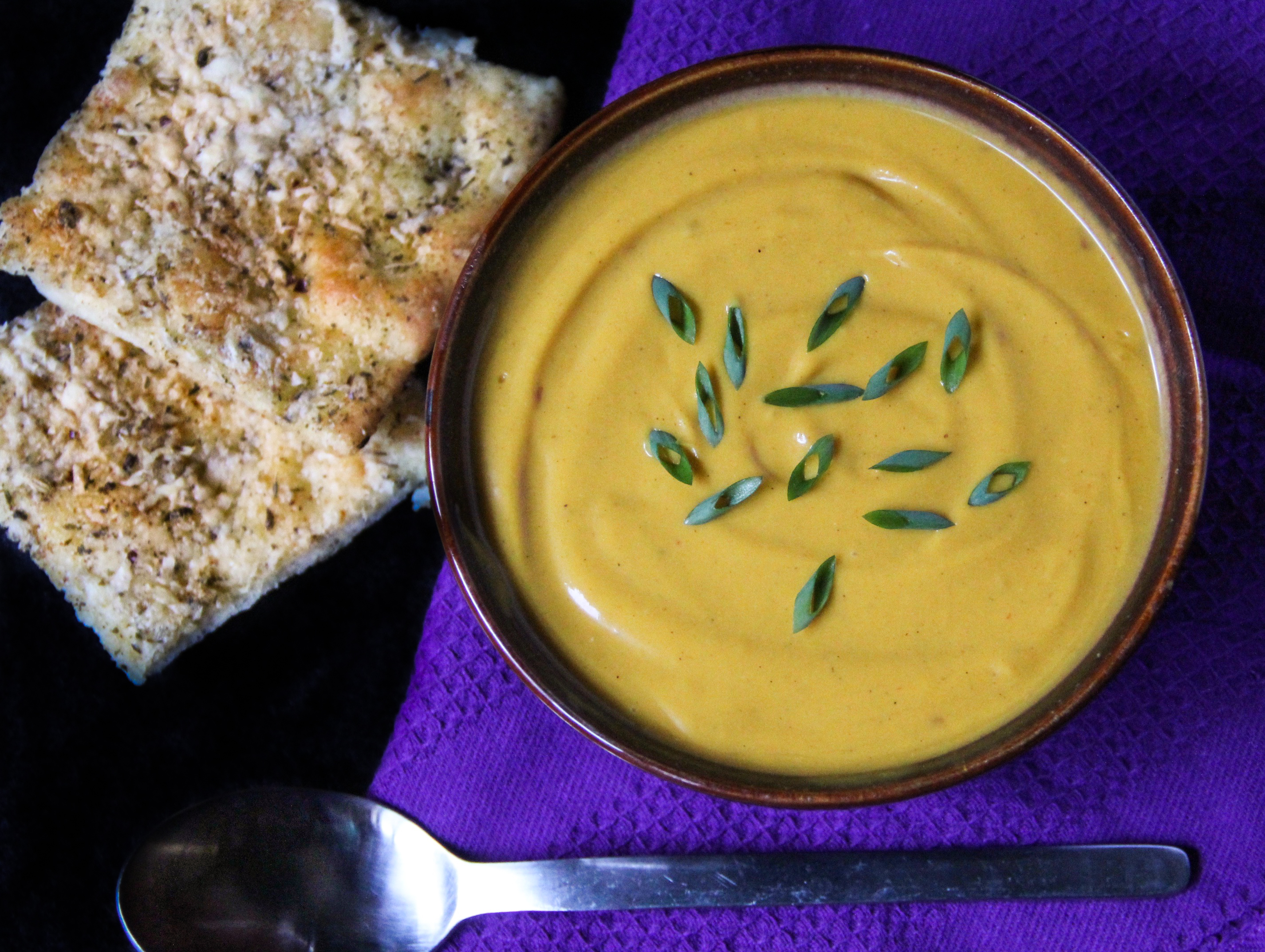 Forbidden Rice Blog - Roasted Butternut Squash and Carrot Soup